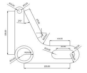 AutoCAD 2D Tutorials | AutoCAD 2D Exercises | AutoCAD 2D Samples ...